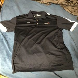 Nike Golf DRI FIT L Black Polo Shirt